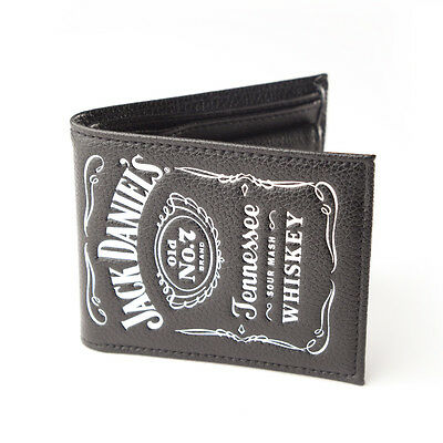 OFFICIAL Jack Daniel's - Classic White Logo - Bifold Wallet