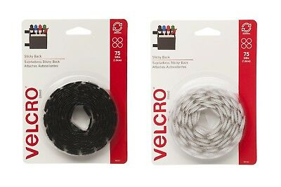 """Velcro Sticky Back 75 Pack 5/8"""" Coin Fasteners Hook & Loop SELECT YOUR COLOR!"""