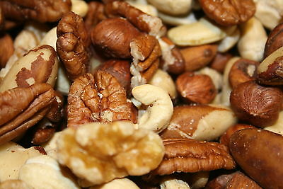 Mixed Nuts Deluxe Raw Unsalted, 10Lbs