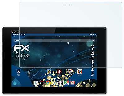 2x FX-Shock-Clear Displayschutzfolie Sony Xperia Tablet Z Panzerfolie Folie