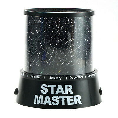 Night Romatic Gift Cosmos Star Sky Master Projector Starry Night Light Lamp FE