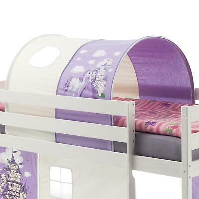 tunnel bettzelt f r hochbett spielbett pink tunnelzelt. Black Bedroom Furniture Sets. Home Design Ideas
