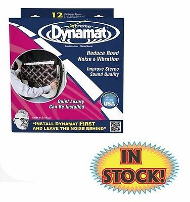 """Dynamat 10435 - Xtreme Door Kit (4) 12"""" x 36"""" Sheets for 12 Sq.Ft."""