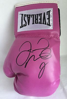 AUTHENTIC FLOYD MAYWEATHER SIGNED EVERLAST BOXING GLOVE TMT MONEY TEAM Pacquiao