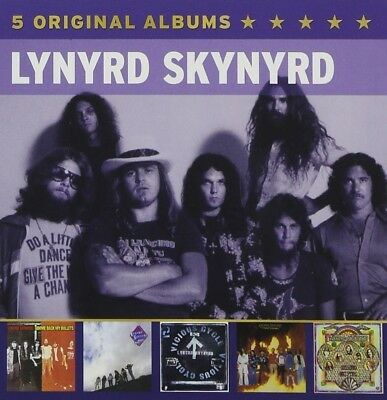Lynyrd Skynyrd - 5 Original Albums 5 Cd New+