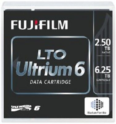 Pack of 20 FujiFilm LTO Ultrium 6 (LTO6) data cartridges - 2.5/6.25TB