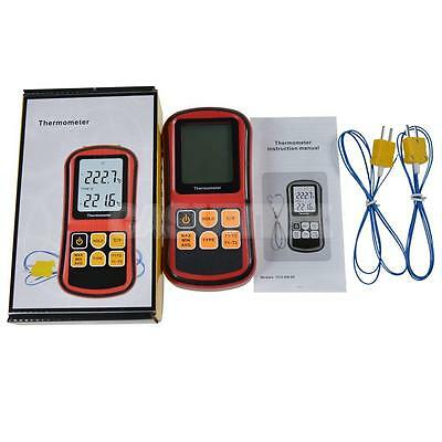 Portable Digital K Type Thermocouple Thermometer Measurer Sensor Meter °C/°F