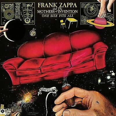 Frank & The Mothers Of Invention Zappa - One Size Fits All (Lp)  Vinyl Lp New+