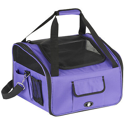 Me & My Pet Purple Dog/Cat/Kitten Car Travel/Safety Seat Carry Crate/Carrier Bag