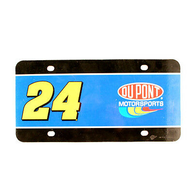 Jeff Gordon #24 Dupont Collectors Number Plate