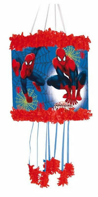 Spiderman Pinata - Official Branded - Pull Sting Mask Loot/Party Game Fillers To