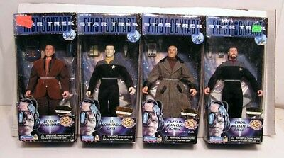 """Star Trek 1st CONTACT  9"""" Action Figure Set of 4- Boxed"""