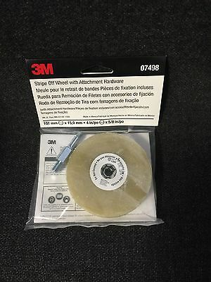 3M 07498 Stripe Off Wheel/Eraser Wheel With Hardware 3M 7498