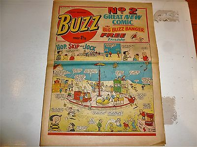 BUZZ Comic - No 2 - Date 27/01/1973 - UK Paper comic