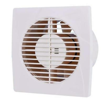 "White Standard Timer 4"" 6"" Extractor Fan Bathroom Kitchen Wall Ceiling Fan"