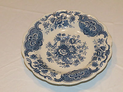 Ridgway of Staffordshire England Windsor Blue white saucer 5.75 inches CHIP *^