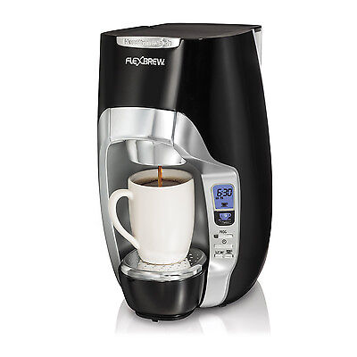 Hamilton Beach FlexBrew Single-Serve Programmable Coffeemaker, Black | 49996