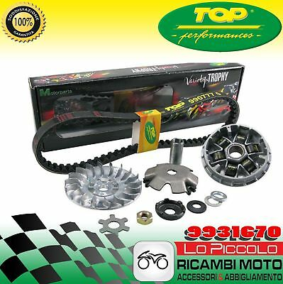 9931670 Variatore+Cinghia Trophy Tpr Top Variotop Mbk Booster Ng Ovetto Nitro 50