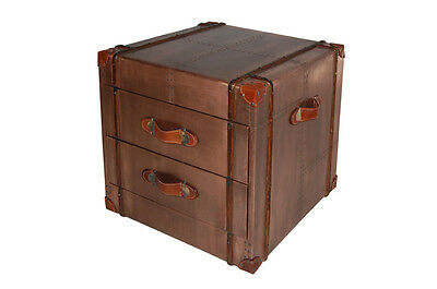 Furniture Copper Dresser Two Drawers Aircraft Recycling