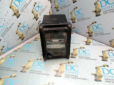 General Electric 12Ijc51A1A Overcurrent Relay W/ Voltage Restraint*broken Glass*