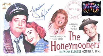 """COVERSCAPE computer designed 60th anniversary TVs """"Honeymooners"""" event cover"""