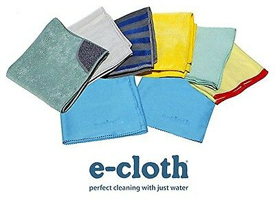 E Cloth 8 piece HOME CLEANING SET  Multi Cloth Value Pack NEW 8 pc
