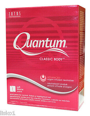 Quantum Zotos Classic Body Hair acid perm for normal tinted Hair, 1-application