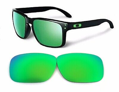 Galaxy Replacement Lenses For Oakley Holbrook Green 100% UVAB Polarized!
