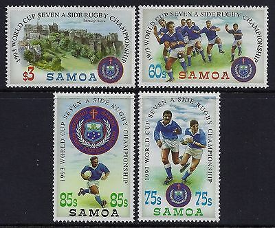 Samoa 1993 World Cup Rugby Sevens Championship MNH