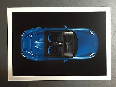2010 Porsche 911 Speedster Factory issued Post Card Above RARE!! Awesome L@@K