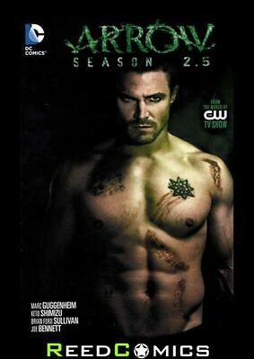 ARROW SEASON 2.5 GRAPHIC NOVEL New Paperback Collects Issues #1-12 (Green Arrow)