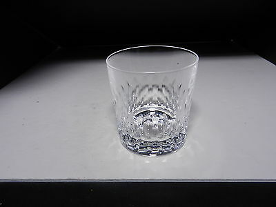 "Cristal D'Arques Juan Old Fashioned Straight Side Clear Cut Crystal 3 3/8"" T"