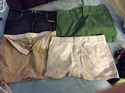 Lot of 4 Women skirts Sizes 8/9