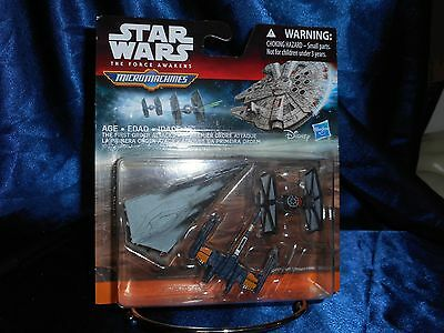 Star Wars The Force Awakens Micromachines New In Box by Disney