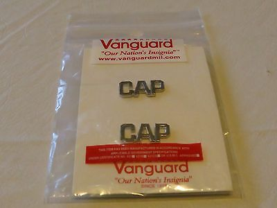 silver CAP C.A.P. Vanguard pin pins hat sleeve NEW Military US States