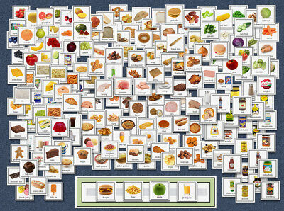 190+ PECS Boardmaker Cards Pack - Food / Meal / Shop - Now / Next - SEN / Autism