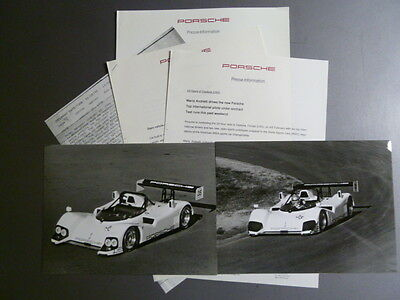 1995 Porsche World Sports Car (WSC) Factory issued Press Kit RARE!! Awesome L@@K