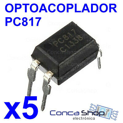 Pc817 Optoacoplador - Lote De 5 - Sharp 817 Fl817C Pc817 El817 Dip-4 - España