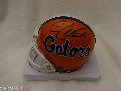 Cris Collinsworth Gators SIGNED mini helmet