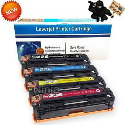 4PK Color Toner For HP CF210A 131A LaserJet Pro 200 M251nw MFP M276nw Printer