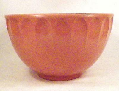 Boonton Ware Melamine Melmac Serving Bowl Pink 2 Qt Mid Century Modern 511-A