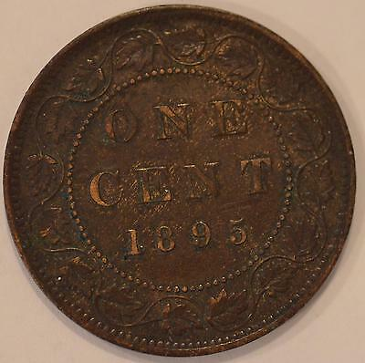 1895 EXTREMELY FINE Canadian Large Cent #3