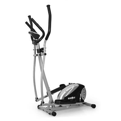 Exercise Elliptical Cross Trainer By Klarfit with Integrated Heart Rate Monitor