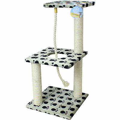 Me & My Cat/kitten Scratching Post & Rope Toy/play/climb/activity/scratch/sisal