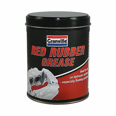 Granville Red Rubber Grease Lubricant 500g Seals Valves Brakes O Rings Taps