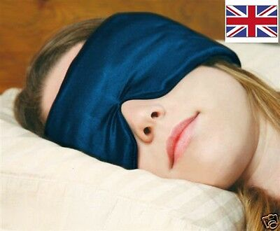 Sleep Master eye mask / blindfold -  a comfy noise reduction headband ear plugs