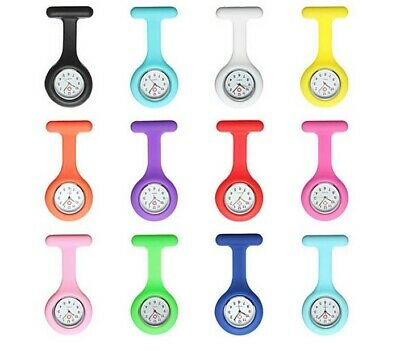 Silicon Nurses Fob Watch - Batteries Included 5% Off 2 Or More - Colour Choice