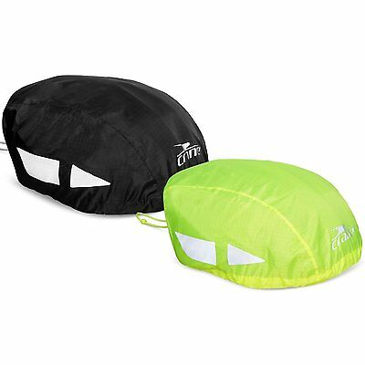 Hi Vis Reflective Waterproof Bike Bicycle Cycle Helmet Rain Water Wind Trendy717