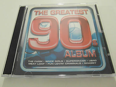Various Artists -The Greatest 90`s Album (2 x CD Album) Used very good