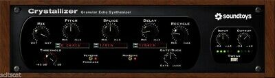 New SoundToys Crystallizer V. 5 Reverse Echo Effects Plugin Mac PC AAX VST AU